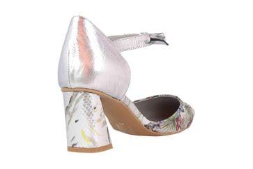 Spring Footwear Sandaletten in Übergrößen Silber Sensational-Slm große Damenschuhe – Bild 3