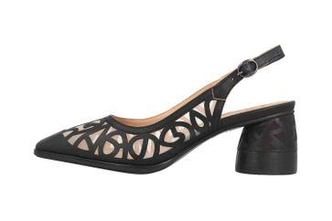 Spring Footwear Sandalen in Übergrößen Schwarz Chablis-B große Damenschuhe – Bild 1