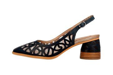 Spring Footwear Sandalen in Übergrößen Grün Chablis-Tl große Damenschuhe – Bild 1