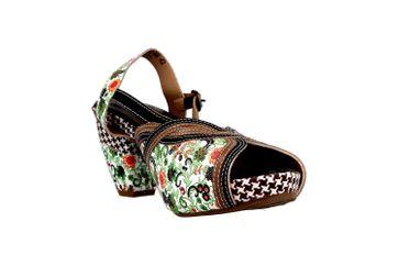 Spring Footwear Sandaletten in Übergrößen Mehrfarbig Dollface-Bm große Damenschuhe – Bild 5