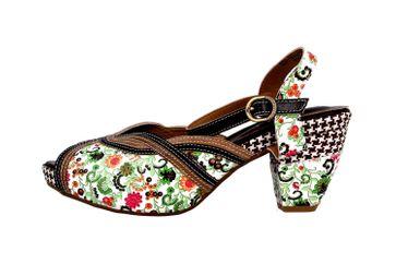 Spring Footwear Sandaletten in Übergrößen Mehrfarbig Dollface-Bm große Damenschuhe – Bild 1
