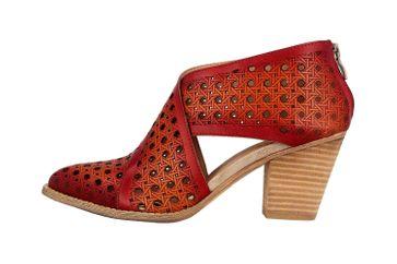 Spring Footwear Pumps in Übergrößen Rot Ghalna-Rd große Damenschuhe – Bild 1