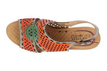 Spring Footwear Sandaletten in Übergrößen Mehrfarbig Leonara-Orm große Damenschuhe – Bild 7