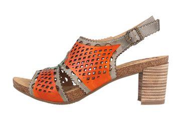 Spring Footwear Sandaletten in Übergrößen Mehrfarbig Leonara-Orm große Damenschuhe – Bild 1
