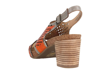 Spring Footwear Sandaletten in Übergrößen Mehrfarbig Leonara-Orm große Damenschuhe – Bild 2