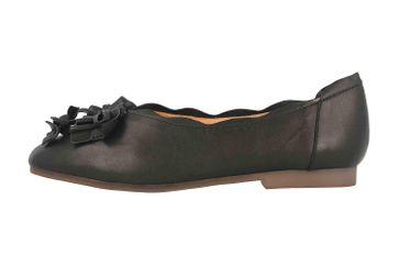 Spring Footwear Ballerinas in Übergrößen Schwarz Louisa-B große Damenschuhe – Bild 1