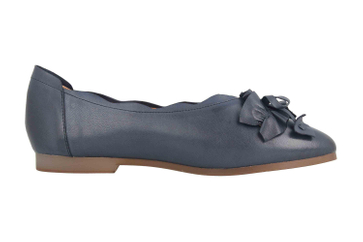 Spring Footwear Ballerinas in Übergrößen Blau Louisa-Blu große Damenschuhe – Bild 4