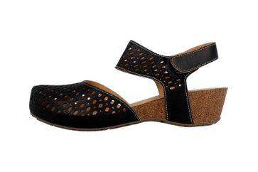 Spring Footwear Sandalen in Übergrößen Schwarz Poppiri-B große Damenschuhe – Bild 1