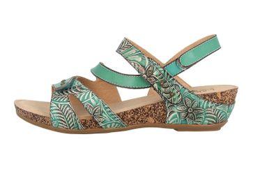 Spring Footwear Sandaletten in Übergrößen Türkis Quilana-Tq große Damenschuhe – Bild 1