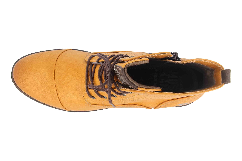 Mustang Shoes Boots in Übergrößen Braun 1359-502-307 große Damenschuhe