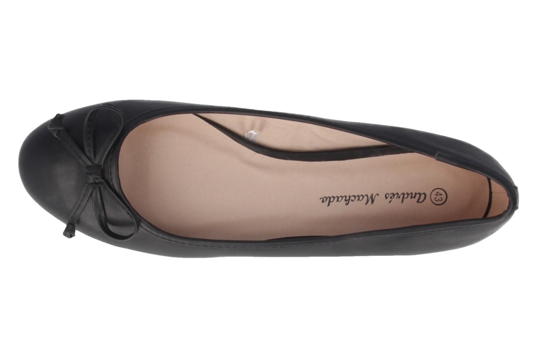 ANDRES MACHADO - Damen Ballerinas - Schwarz Schuhe in Übergrößen – Bild 4
