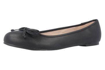 ANDRES MACHADO - Damen Ballerinas - Schwarz Schuhe in Übergrößen
