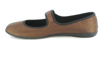 SALE - ANDRES MACHADO - Damen Ballerinas - Bronze Schuhe in Übergrößen – Bild 5