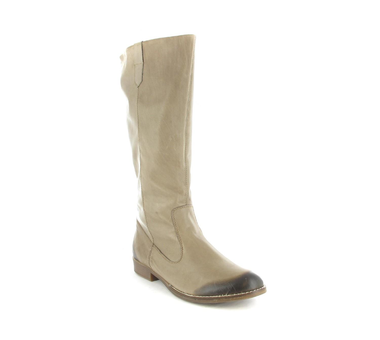 REMONTE - Damen Stiefel - Beige Schuhe in Übergrößen – Bild 1