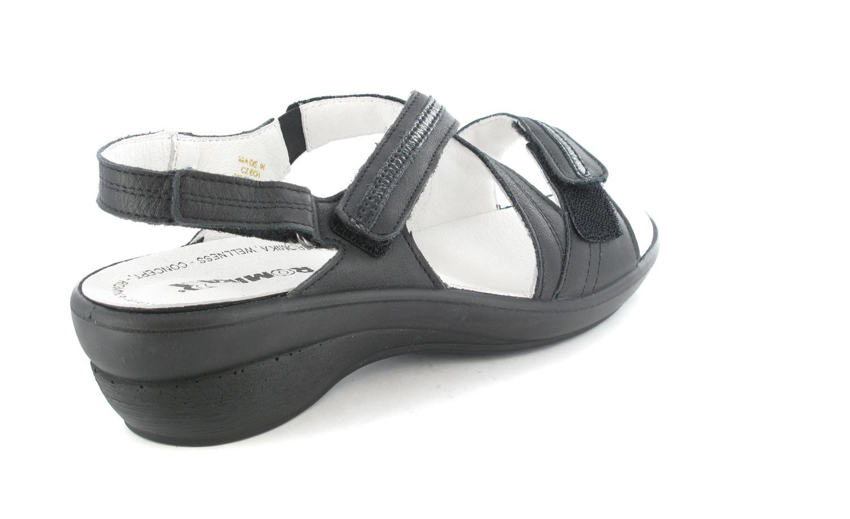 SALE - ROMIKA - Damen Sandaletten - Schwarz Schuhe in Übergrößen – Bild 3