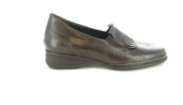 Semler Slipper in Übergrößen Braun R1845-012-037 große Damenschuhe – Bild 2