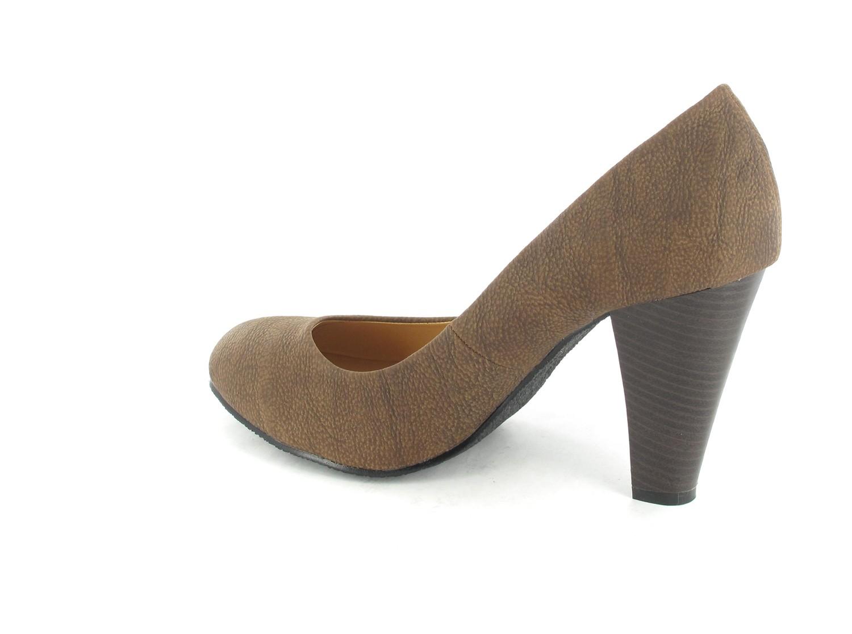 SALE - ANDRES MACHADO - Damen Pumps - Braun Schuhe in Übergrößen – Bild 4
