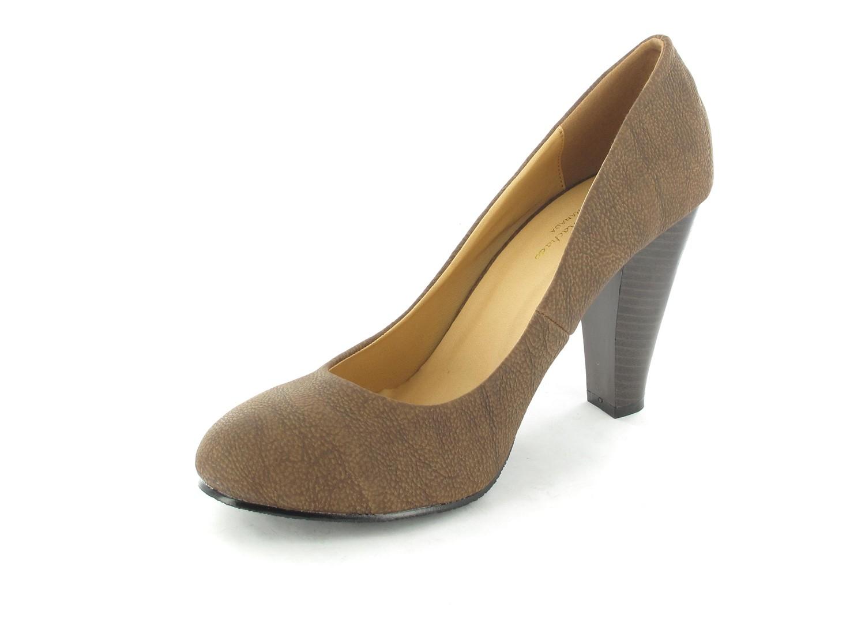 SALE - ANDRES MACHADO - Damen Pumps - Braun Schuhe in Übergrößen – Bild 6