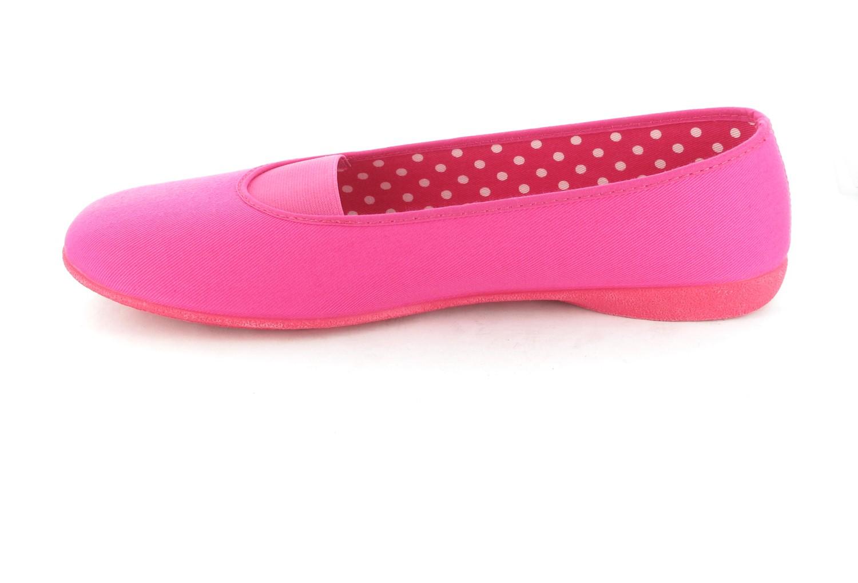 Andres Machado Ballerinas in Übergrößen Pink AM277 Fuxia große Damenschuhe – Bild 5