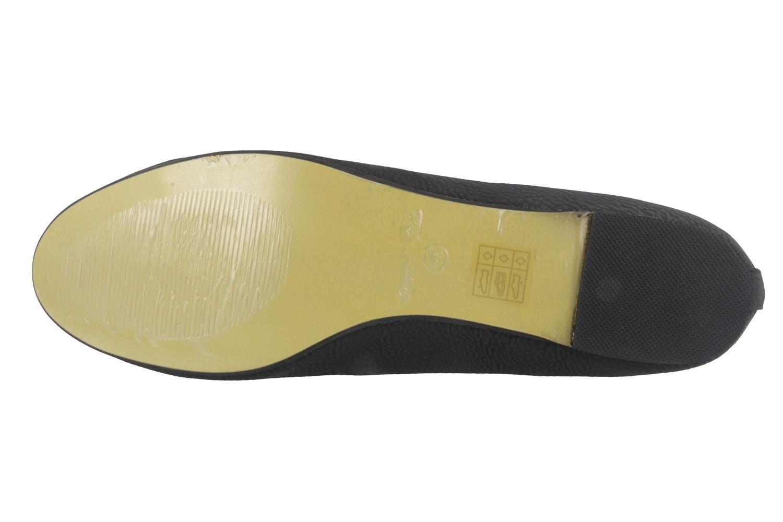 ANDRES MACHADO - Damen Ballerinas - Schwarz Schuhe in Übergrößen – Bild 5