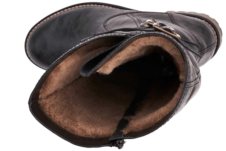 Remonte Stiefel in Übergrößen Schwarz R3370-01 große Damenschuhe – Bild 5