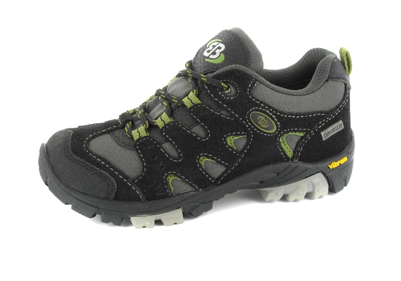 Brütting Outdoor Trekking Schuhe in Übergrößen Schwarz 421000 große Unisexschuhe – Bild 1