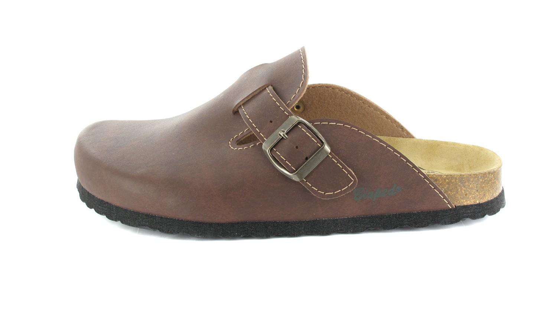 BIOPED - Unisex Clogs - Zürich - Dunkelbraun Schuhe in Übergrößen – Bild 2