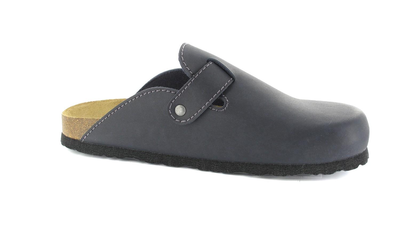 BIOPED - Unisex Clogs - Zürich - Dunkelblau Schuhe in Übergrößen – Bild 6