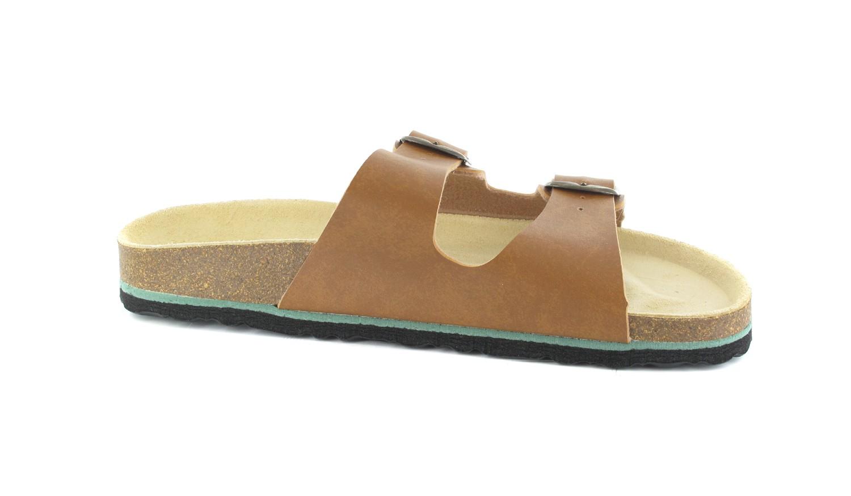 BIOPED - Unisex Pantoletten - Ibiza - Natur Schuhe in Übergrößen – Bild 6