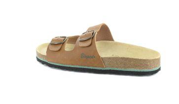 BIOPED - Unisex Pantoletten - Ibiza - Natur Schuhe in Übergrößen – Bild 3
