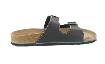 BIOPED - Unisex Pantoletten - Ibiza - Schwarz Schuhe in Übergrößen – Bild 5