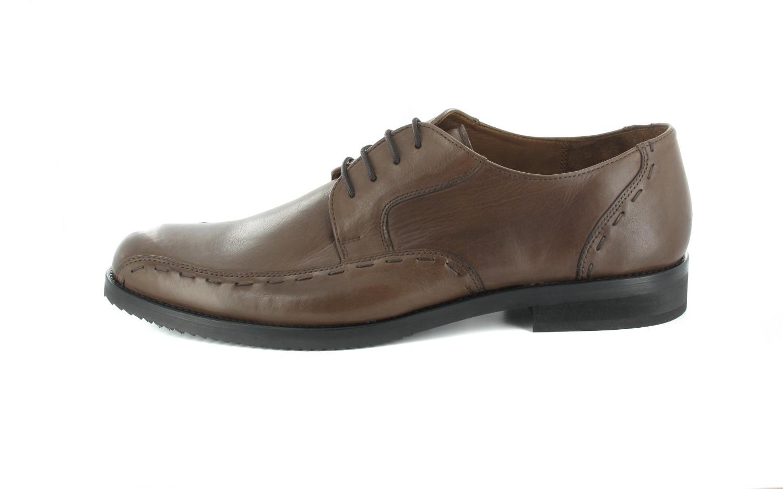 SALE - MANZ - Herren Business Schuhe - Braun Schuhe in Übergrößen – Bild 2