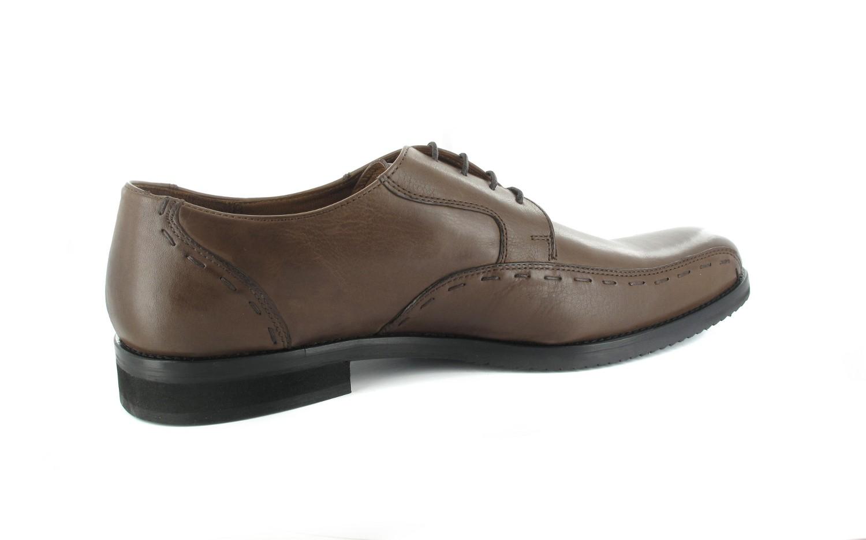 SALE - MANZ - Herren Business Schuhe - Braun Schuhe in Übergrößen – Bild 4