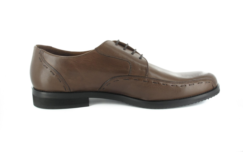 Manz Business-Schuhe in Übergrößen Braun 106002-22-191 große Herrenschuhe – Bild 5