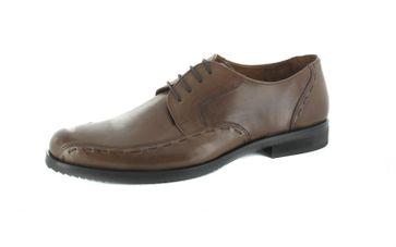 Manz Business-Schuhe in Übergrößen Braun 106002-22-191 große Herrenschuhe – Bild 1