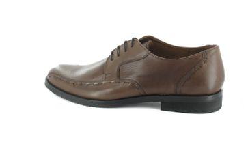 Manz Business-Schuhe in Übergrößen Braun 106002-22-191 große Herrenschuhe – Bild 3