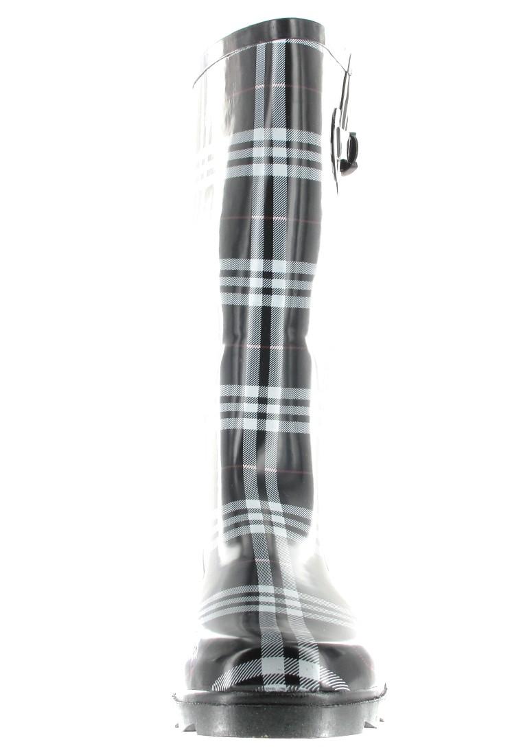 INTEX Cora - Damen Kautschuk-Gummistiefel - Schwarz Schuhe in Übergrößen – Bild 4