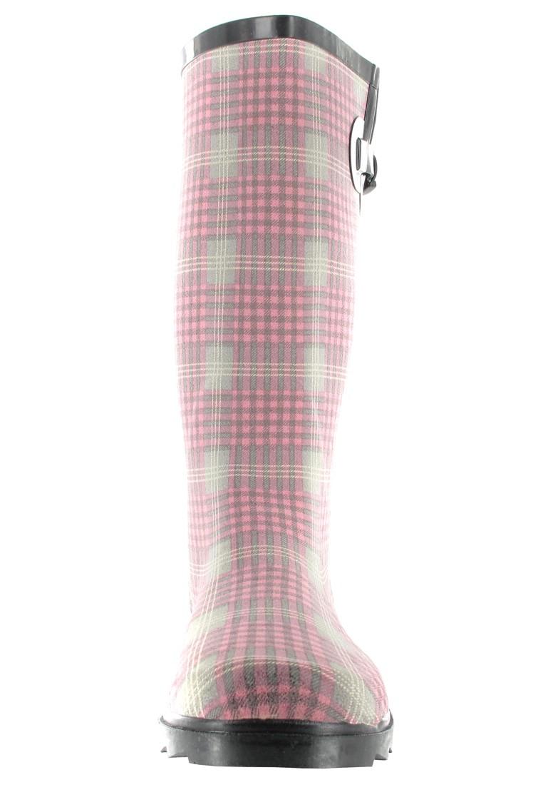 INTEX Caroline - Damen Kautschuk-Gummistiefel - Rosa Schuhe in Übergrößen – Bild 4