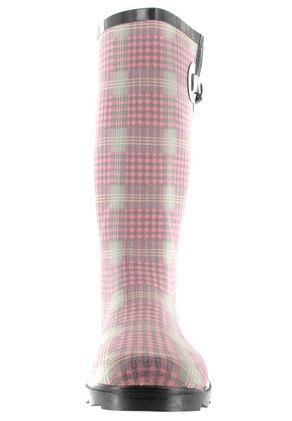 Intex Kautschuk-Gummistiefel in Übergrößen Pink 14100 große Damenschuhe – Bild 4