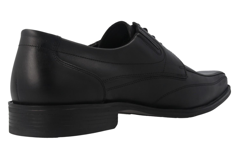 Fretz Men Business-Schuhe in Übergrößen Schwarz 1911.3362-51 große Herrenschuhe – Bild 3