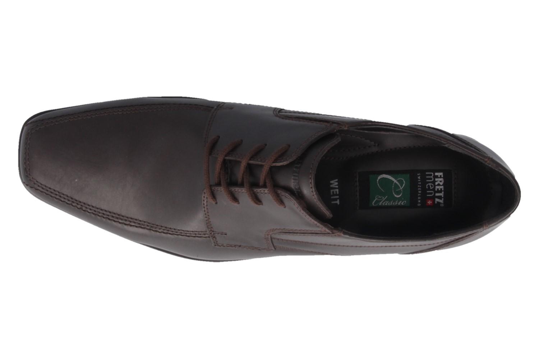 Fretz Men Business-Schuhe in Übergrößen Braun 1912.3362-38 große Herrenschuhe – Bild 4