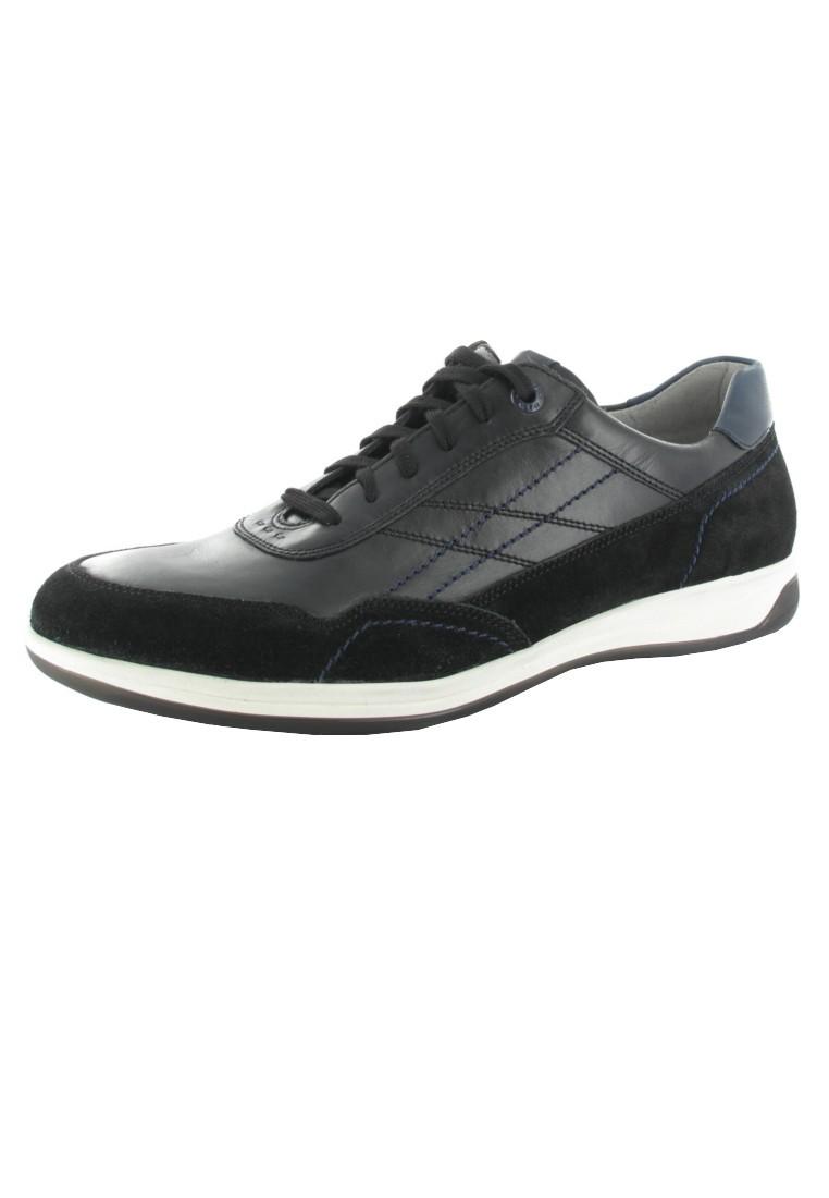 SALE - FRETZ MEN - Herren Halbschuhe - Schwarz Schuhe in Übergrößen – Bild 1