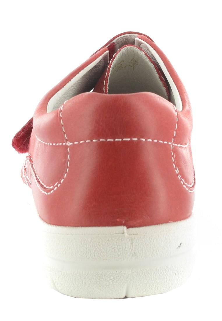 SALE - JOSEF SEIBEL - Damen Klett-Halbschuhe - Rot Schuhe in Übergrößen – Bild 2