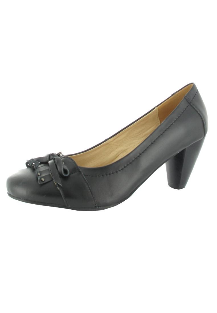 SALE - ANDREA CONTI - Damen Pumps - Schwarz Schuhe in Übergrößen – Bild 1