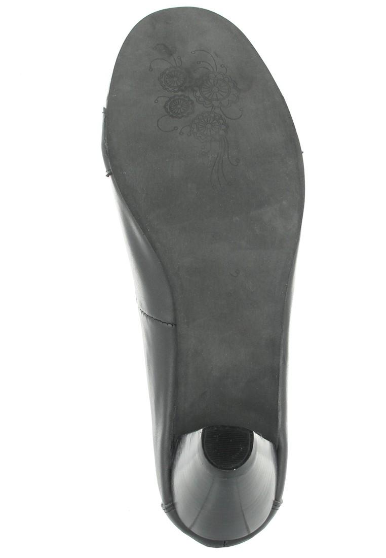 Andrea Conti Pumps in Übergrößen Schwarz 0595623002 große Damenschuhe – Bild 3
