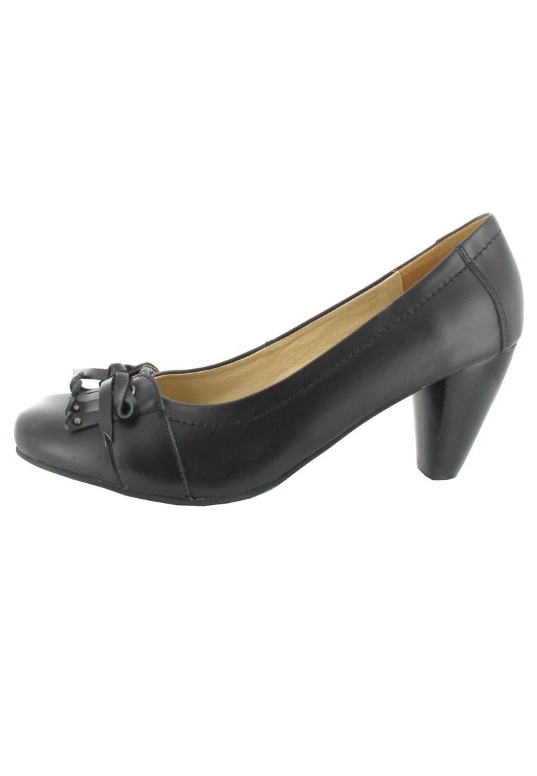 SALE - ANDREA CONTI - Damen Pumps - Schwarz Schuhe in Übergrößen – Bild 5
