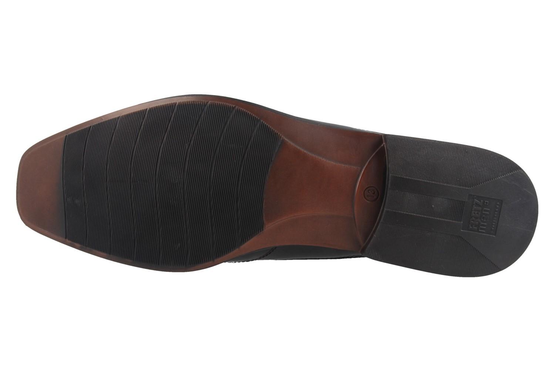 Fretz Men Business-Schuhe in Übergrößen Braun 1911.3362-38 große Herrenschuhe – Bild 5