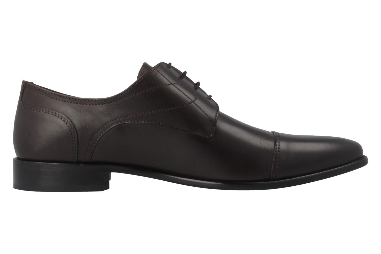 MANZ - Herren Business Schuhe - Braun Schuhe in Übergrößen – Bild 3