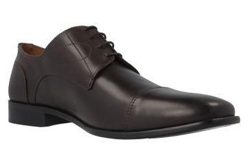 Manz Business-Schuhe in Übergrößen Braun 113033-12-187 große Herrenschuhe – Bild 4