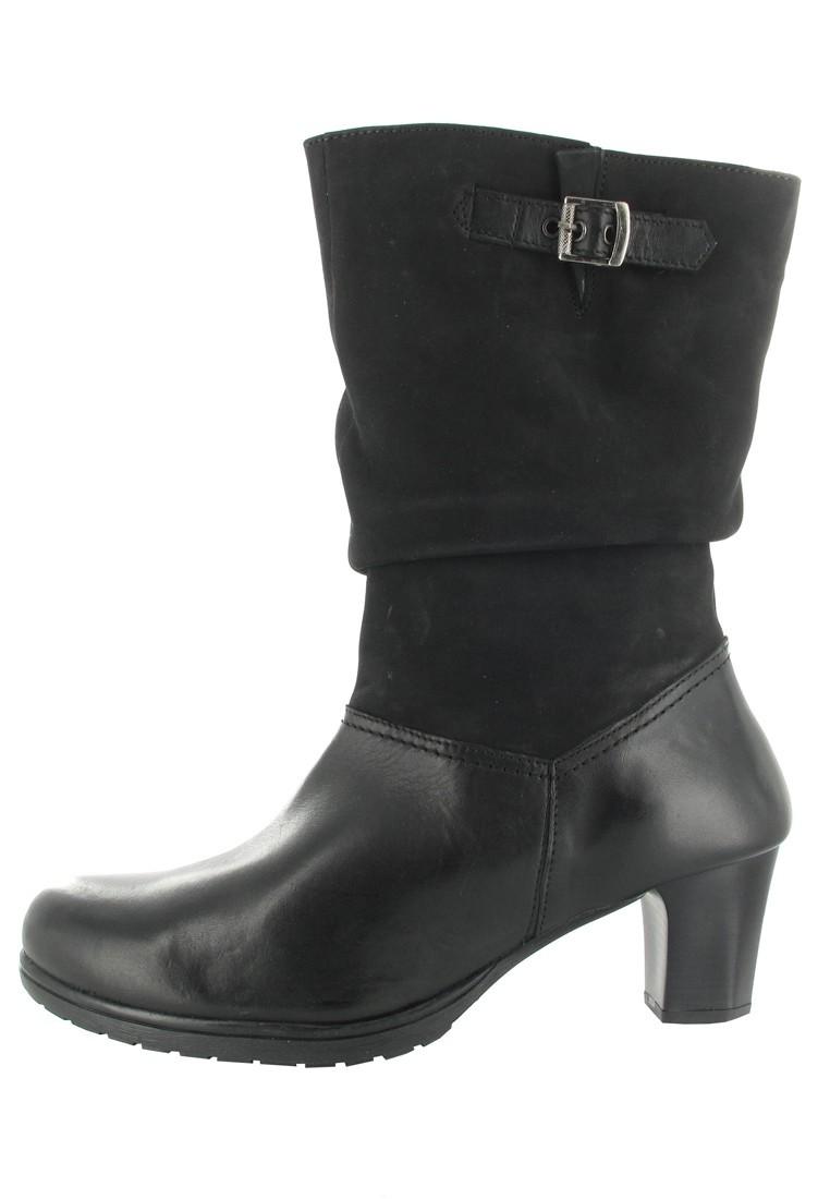 SALE - PIAZZA - Damen Stiefel - Schwarz Schuhe in Übergrößen – Bild 5